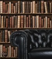 Dutch Wallcoverings - Schuimvinyl boekenkast