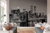 W&G Behang Brooklyn Bridge   - 8-delig fotobehang  - 366 × 254 cm - no. 17373