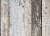 Dutch Wallcoverings Vliesbehang sloophout - beige