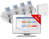 Honeywell Evohome Modulerende Slimme thermostaat - Wifi - Draadloos - Inclusief 4 thermostaatknoppen