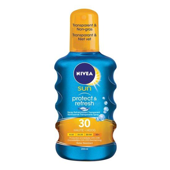 NIVEA SUN Protect & Refresh Spray SPF 30 - 200 ml