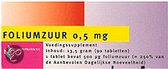 Healthypharm Foliumzuur 0.5mg  - 90 Capsules - Vitaminen