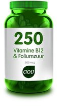 Aov 250 Vitamine B12 & Foliumzuur - 60 Capsules - Vitaminen