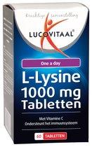 Top 10 Top 10 sportvoeding 2017: Lucovitaal L-Lysine 1000mg Tabletten - 60 tabletten - Voedingssupplementen