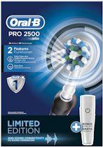 Oral-B PRO 2500 Cross Action Black - Elektrische tandenborstel