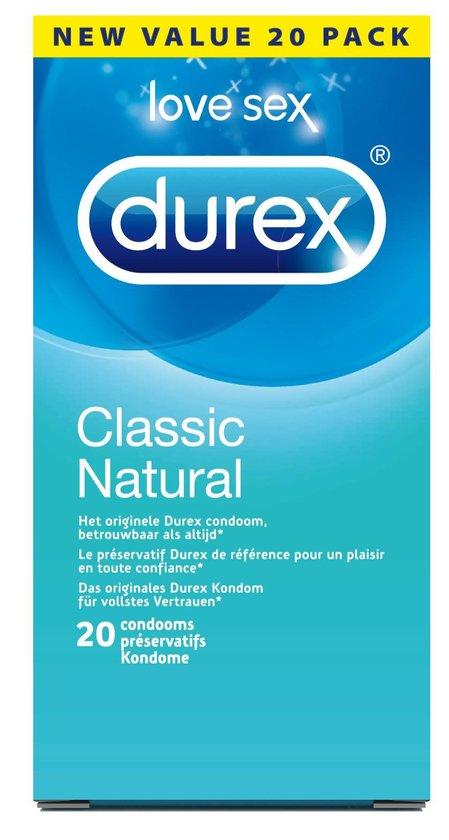 Durex Natural - 20 stuks - Condooms