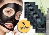 Pilaten Mee-eters verwijderen met blackhead masker / Blackhead - 5 stuks