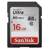 Sandisk SDHC Ultra - 16 GB