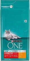 Top 10 Top 10 beste kattenbrokken kittens (2021): Purina ONE Sterilcat Adult - Kattenvoer Kip & Tarwe - 6 kg