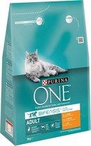 Top 10 Top 10 beste kattenbrokken kittens (2021): Purina ONE Adult - Kattenvoer Kip & Volkoren Granen - 3 kg
