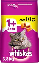 Top 10 Top 10 beste kattenbrokken kittens (2021): Whiskas Droog Adult Kip zak 3,8Kg