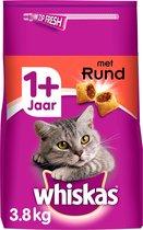 Top 10 Top 10 beste kattenbrokken kittens (2021): Whiskas 1+ Adult Droge Brokjes - Rund - Kattenvoer - 3,8 kg