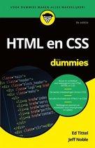 Top 10 Top 10 beste boeken over programmeren (2021): HTML en CSS voor Dummies