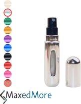 Top 10 Top 10 beste parfumverstuivers (2021): Parfum verstuiver Zilver | Navulbaar 5 ml / Meeneem Parfum Flesje | Handig voor in de tas | Hervulbaar | Klein formaat | Makkelijk te gebruiken