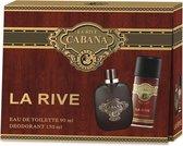 Top 10 Top 10 beste parfum geschenksets (2021): La Rive Cabana - Geschenkset - Eau de toilette 90 ml + Deodorant 150 ml