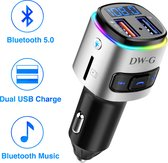 Top 10 Top 10 beste carkits (2021): DW-G Bluetooth FM Transmitter / Auto Lader / Carkit / Handsfree / MP3 / USB / SD Kaart / Snel Lader / Bluetooth Audio Receiver