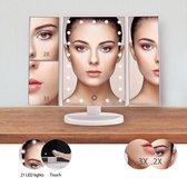 Top 10 Top 10 beste staande spiegels (2021): Make up spiegel - make up spiegel met verlichting - inklapbare draagbare make up spiegel met LED verlichting - cosmeticaspiegel - zwart - DisQounts