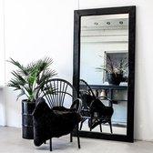 Top 10 Top 10 beste staande spiegels (2021): Moodadventures | Exclusives | Spiegels | Lijst Hout Zwart | 200x100 cm.