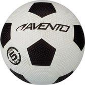 Top 10 Top 10 beste voetballen (2021): Avento Straatvoetbal - El Classico - Wit/Zwart - 5