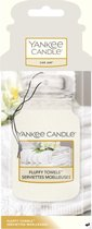 Top 10 Top 10 beste auto parfum (2021): Yankee Candle - Car Jar Classic - Fluffy Towels