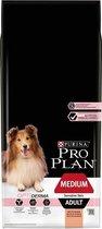 Top 10 Top 10 beste puppybrokken (2021): Pro Plan Medium Adult Sensitive Skin - Hondenvoer Zalm - 14 kg